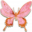 Spiritual Gifts Add-On: Chipboard Butterfly
