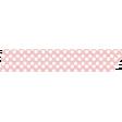 Pink Polka Dot Fabric Washi