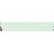 Green Pattern Textured Washi