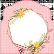 WWJD Add-On Memory Dex Card with Flower Wreath Frame