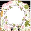 WWJD Add-On Memory Dex Card with Flower Wreath Frame 2