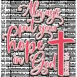 WWJD Add-On Bible Verse Ceramic Glaze