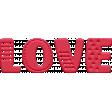 WWJD Add-On Love Word Art
