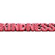 WWJD Add-On Kindness Word Art
