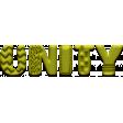 WWJD Add-On Unity Word Art