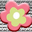 WWJD Add-On Chipboard Flower 1