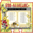Bee-Attitudes Add-On Memory Dex Card With Bible Prompts 2