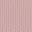 Pink with Green Leaves Patterned Paper