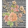 Floral Bouquet Chipboard 1