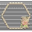 Floral Frame Chipboard