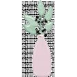 Greenery In Pink Vase