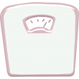 Pink Scale Sticker
