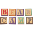 Kumbaya Mini Kit Bear Camp Wordart Building Blocks