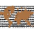 Around the World Mini Kit World Map