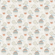 Around the World Mini Kit Hot Air Balloon Patterned Paper
