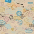 Around the World Mini Kit Stamp Patterned Paper