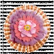 Purple, Orange, Pink Flower Cluster 2