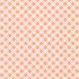 Orange Plaid Joy Paper