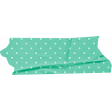 Bloom Green Polka Dot Wrinkled Washi Tape