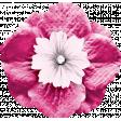 Bloom Pink Fabric Flower