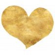 Discernment Kit Add On: Textured Gold Foil Heart