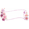 Discernment Kit Add On: Watercolor Floral Banner