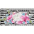 Hello Spring: Chipboard Flower Bouquet