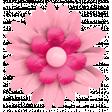 Hello Spring: Pink Fabric Flower