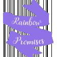 Rainbow Promises Banner