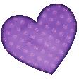 Glitter Heart 1
