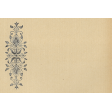 Geometric Lily Design (Left Side) Horizontal 4x6 Journal Card
