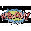 Super Hero Comic Effect Kabbom
