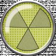 Super Hero Radioactivity Button