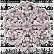 Teen Girl Flower Button