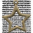 Holly Night Star Pendant