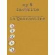My top 5... Quarantine Journal Card