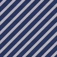 Blue House Stripes