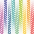 Rainbow Herringbone Fade