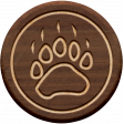 Wood Flair _ Bear print