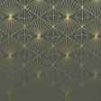 Green and Gold Geometric Paper