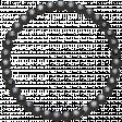 Metal circle of nails