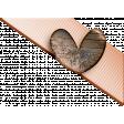 Heart corner-peachypink