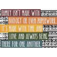 Adoption Adventures - Word Art - Family Made