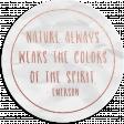 Noble Nature Mini Kit - Word Art _ Emerson