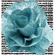 Birthday Bash Mini Kit - Element - Flower - Crepe Paper - Blue