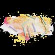 Birthday Bash Mini Kit - Element - Candles Paint Smudge