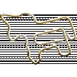 Younique - Element - paper clip - unicorn
