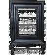 vintage style black frame