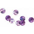 Purple Glass Beads (scatter)