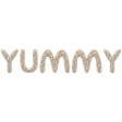 "Cookie ""Yummy"" Wordart"